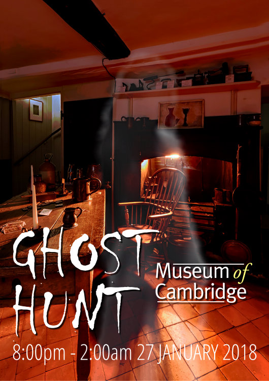 Ghost Hunt at the Museum 27-01-18
