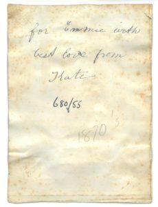 Handwritten Message