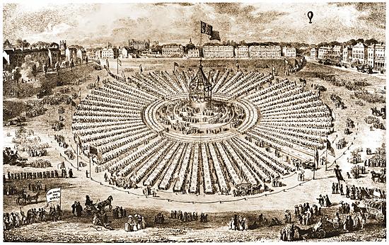 Coronation Celebrations on Parker's Piece