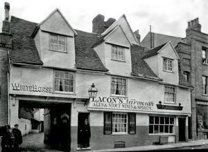 The White Horse Inn, circa 1901