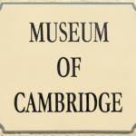 Museum of Cambridge, building sign