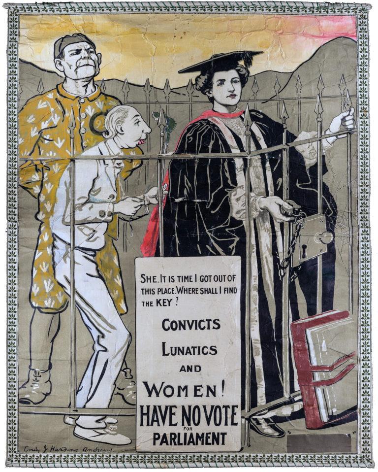 Convicts, Lunatics and Women Have No Vote!