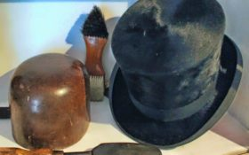 Milliner's Tools and Hat