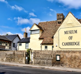 The Museum of Cambridge from the corner of Northampton Street