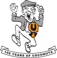 100 Years of Coconuts logo