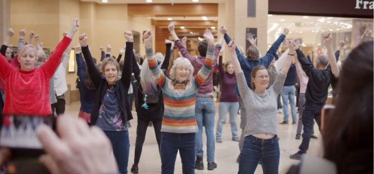 How easy is it to organise a flash mob? It takes more work than you would think…