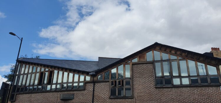 Repairing our roof with the Amey Community Fund